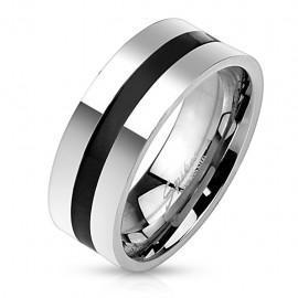 Bague anneau homme acier...