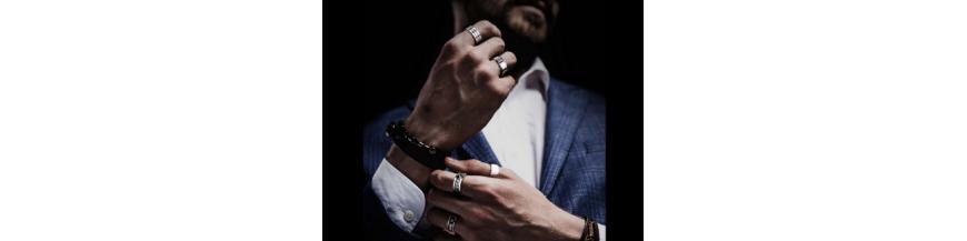Bagues, anneaux, alliances, chevalières pour homme dès 8€ | roidubijou
